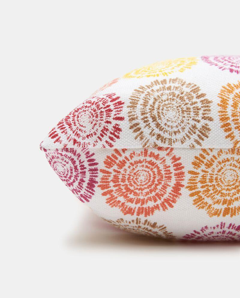 Cuscino stampato di puro cotone