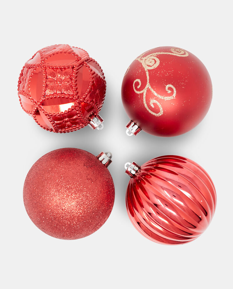 Set quattro palline di Natale