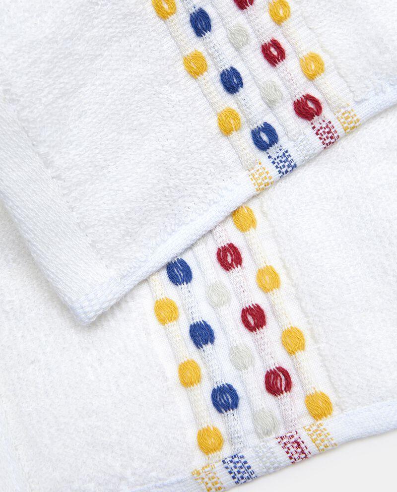 Asciugamano ospite in puro cotone multidots single tile 1