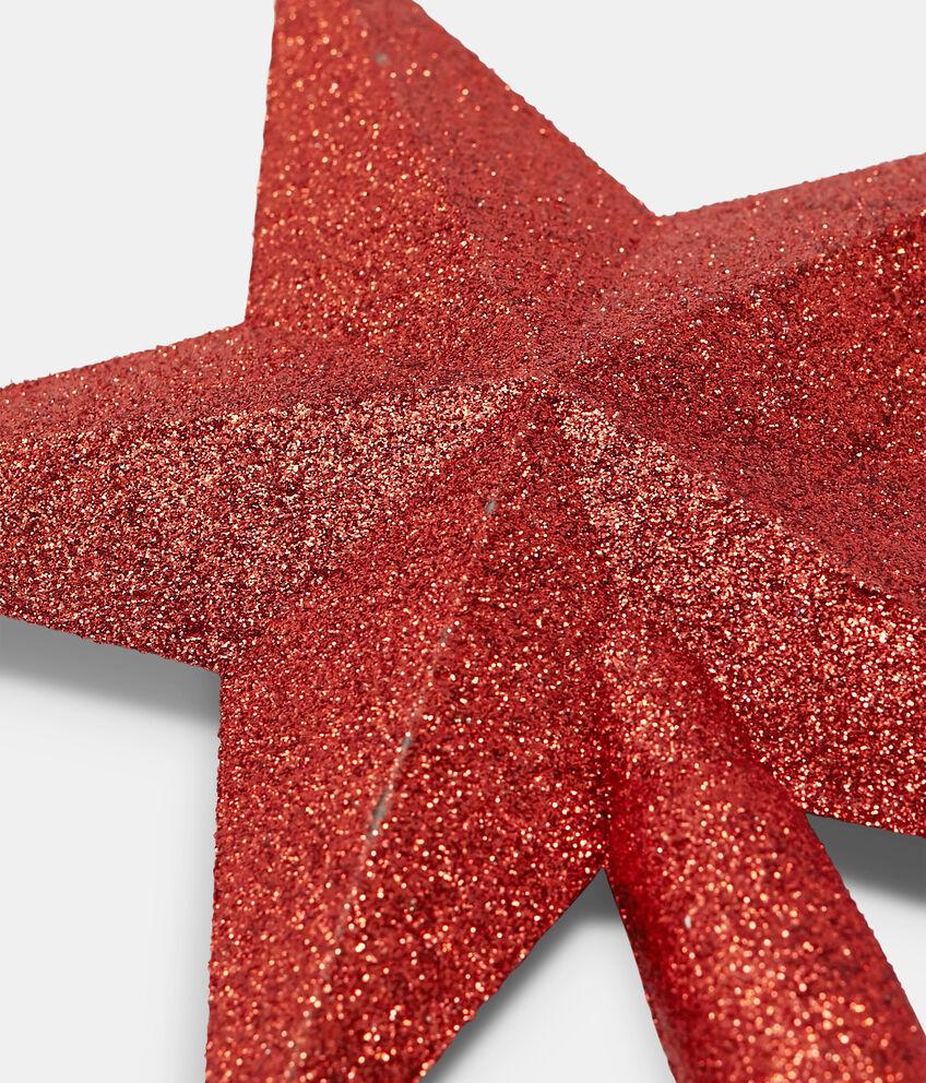 Puntale di Natale glitterato