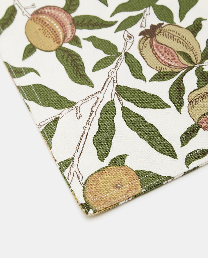 Tovaglietta con stampa frutta in puro cotone single tile 1