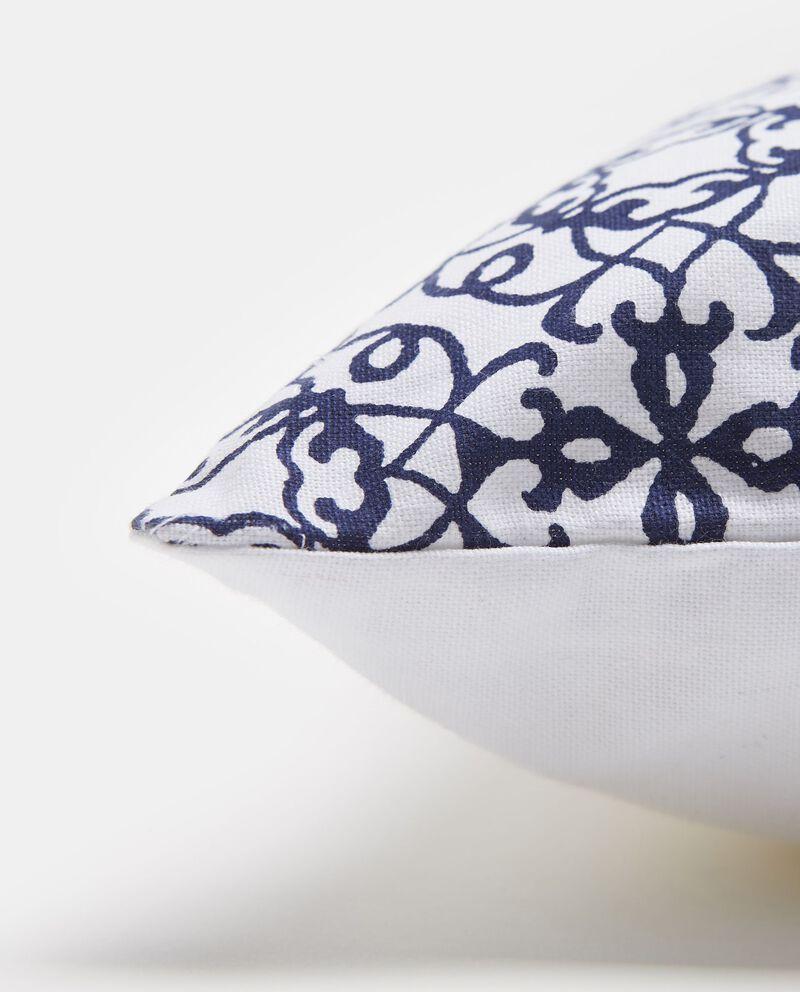 Cuscino in cotone fantasia piastrella