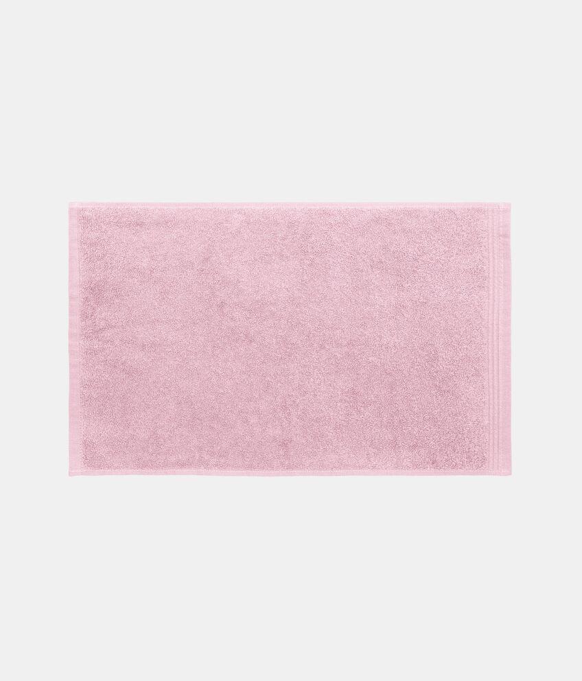 Asciugamano viso tinta unita trama