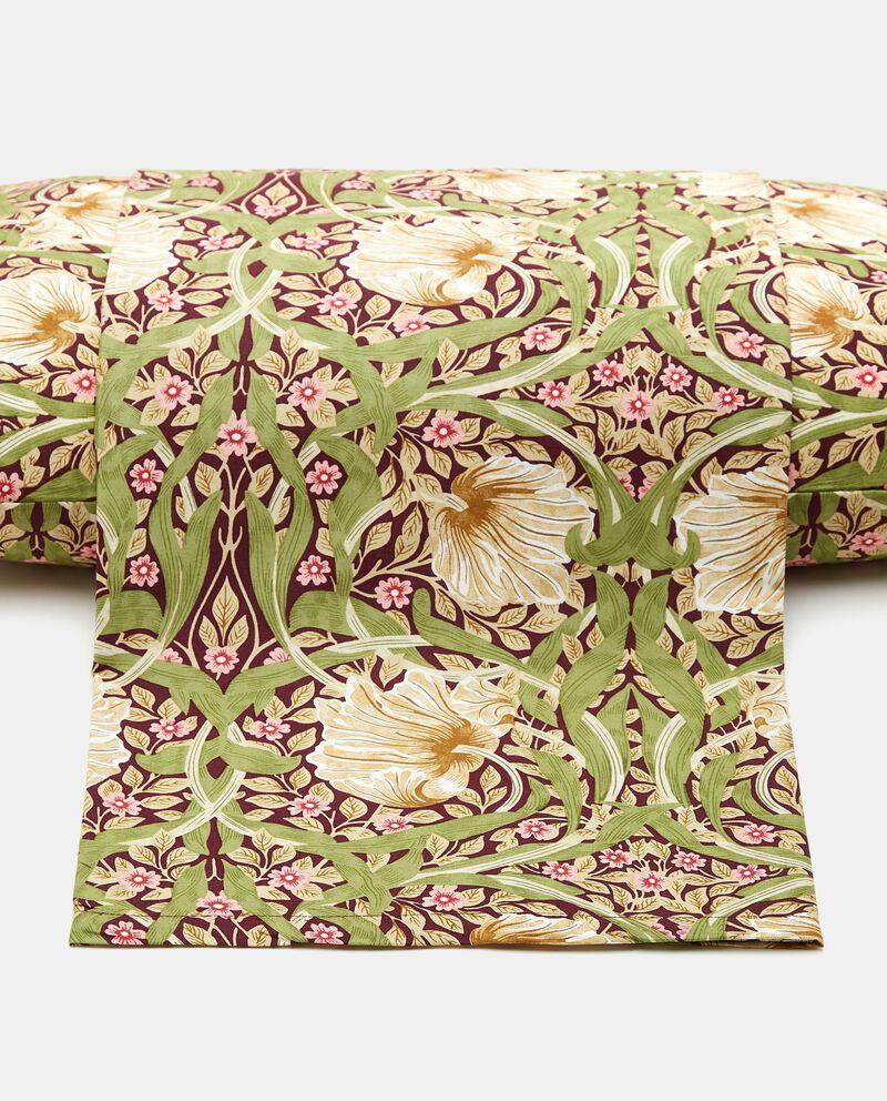 Copripiumino con stampa floreale in puro cotone cover