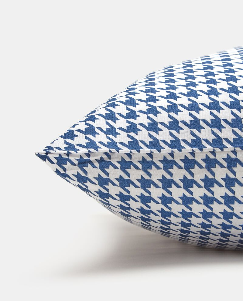 Federa pied de poule in puro cotone single tile 1