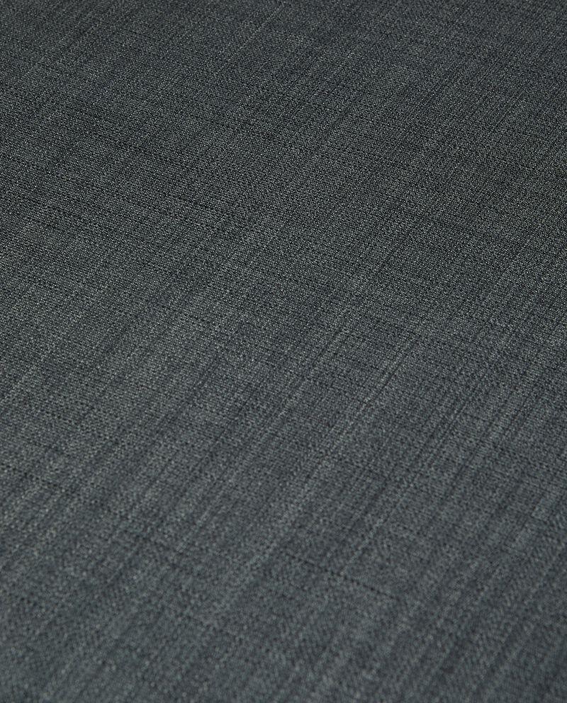 Tovaglia per tavolo rotondo effetto lino single tile 1
