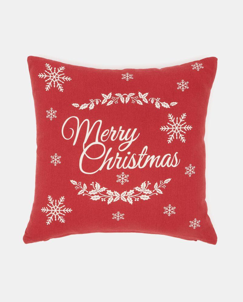 Cuscino in iuta natalizio