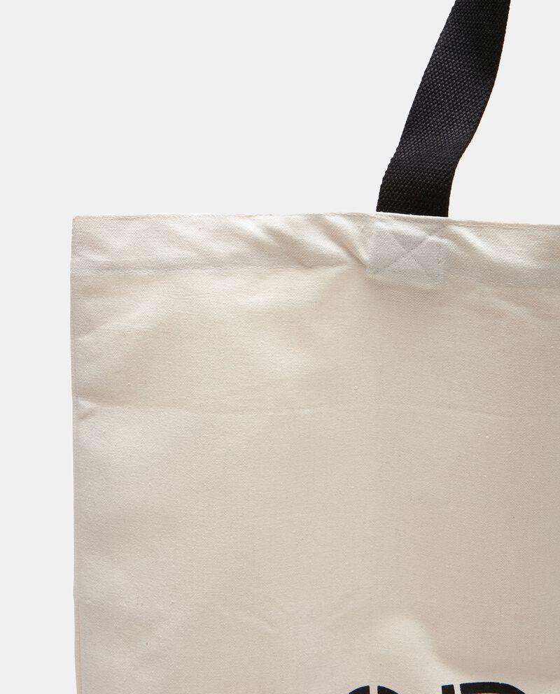 Shopping bag cotone riciclato single tile 1