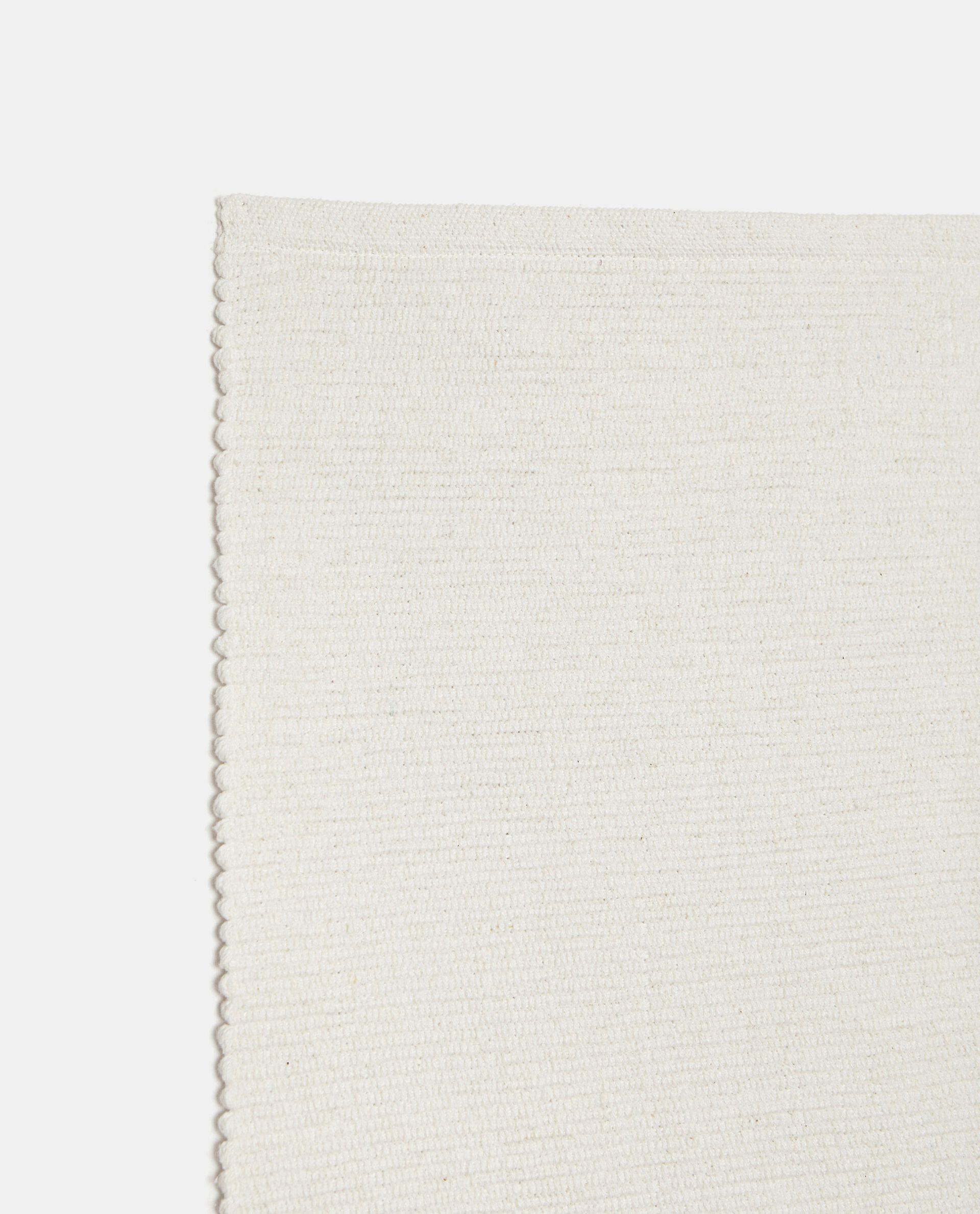 Tappeto tinta unita di puro cotone