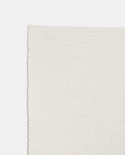 Tappeto tinta unita di puro cotone detail 1