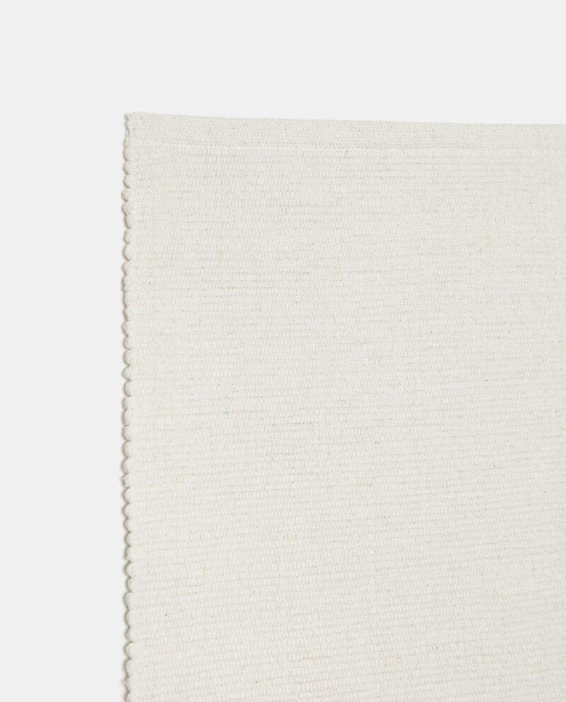 Tappeto tinta unita di puro cotone single tile 1