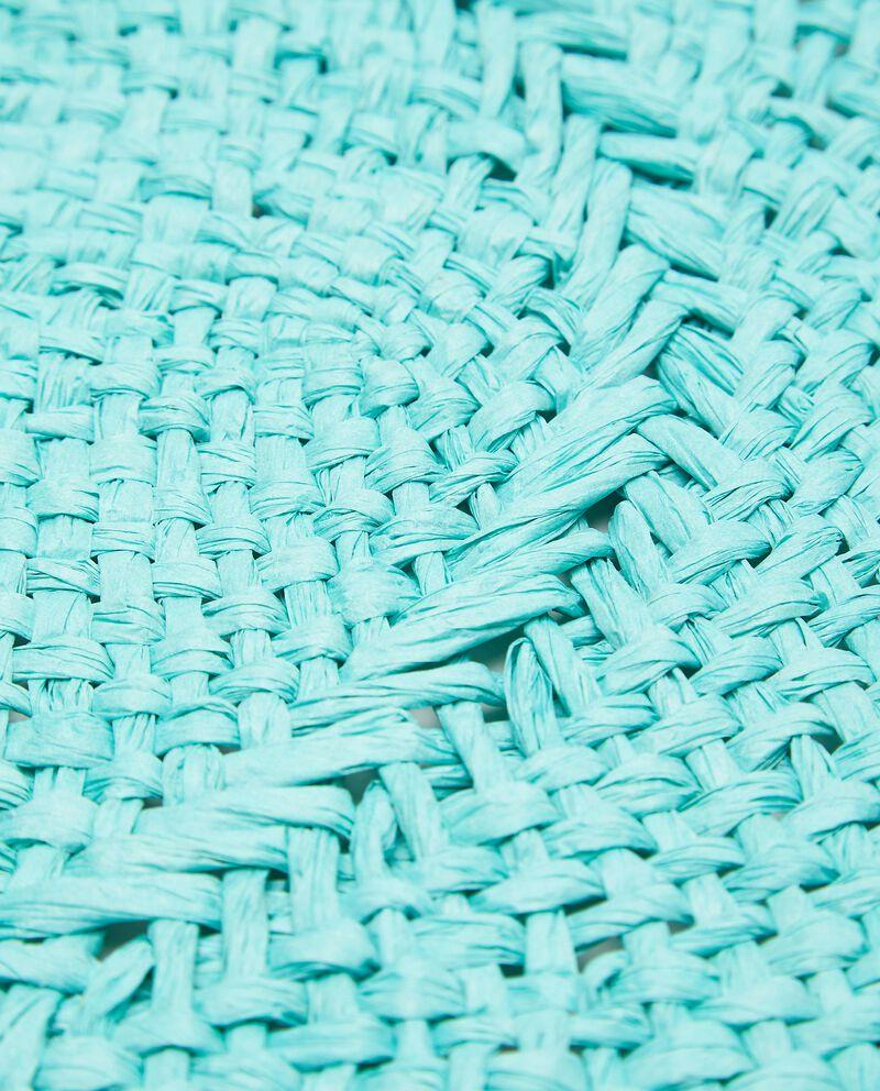 Tovaglietta in rafia rotonda single tile 1