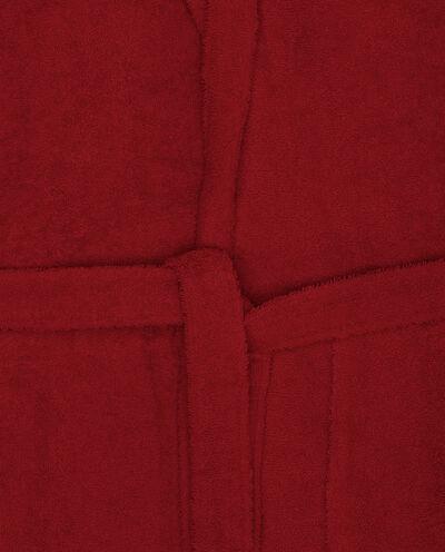 Accappatoio puro cotone con cappuccio