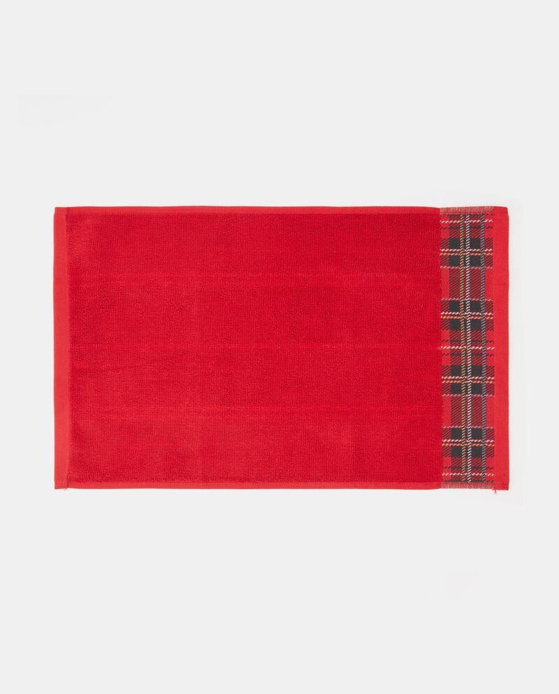 Asciugamano natale con bordatura