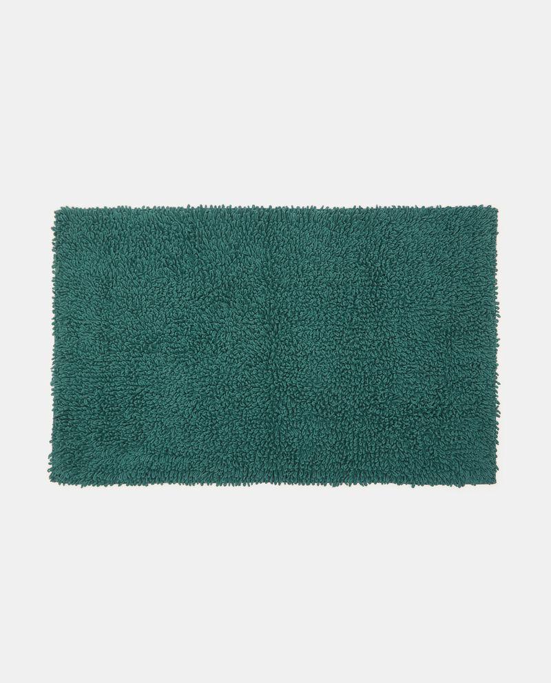 Tappeto bagno shaggy in puro cotone cover