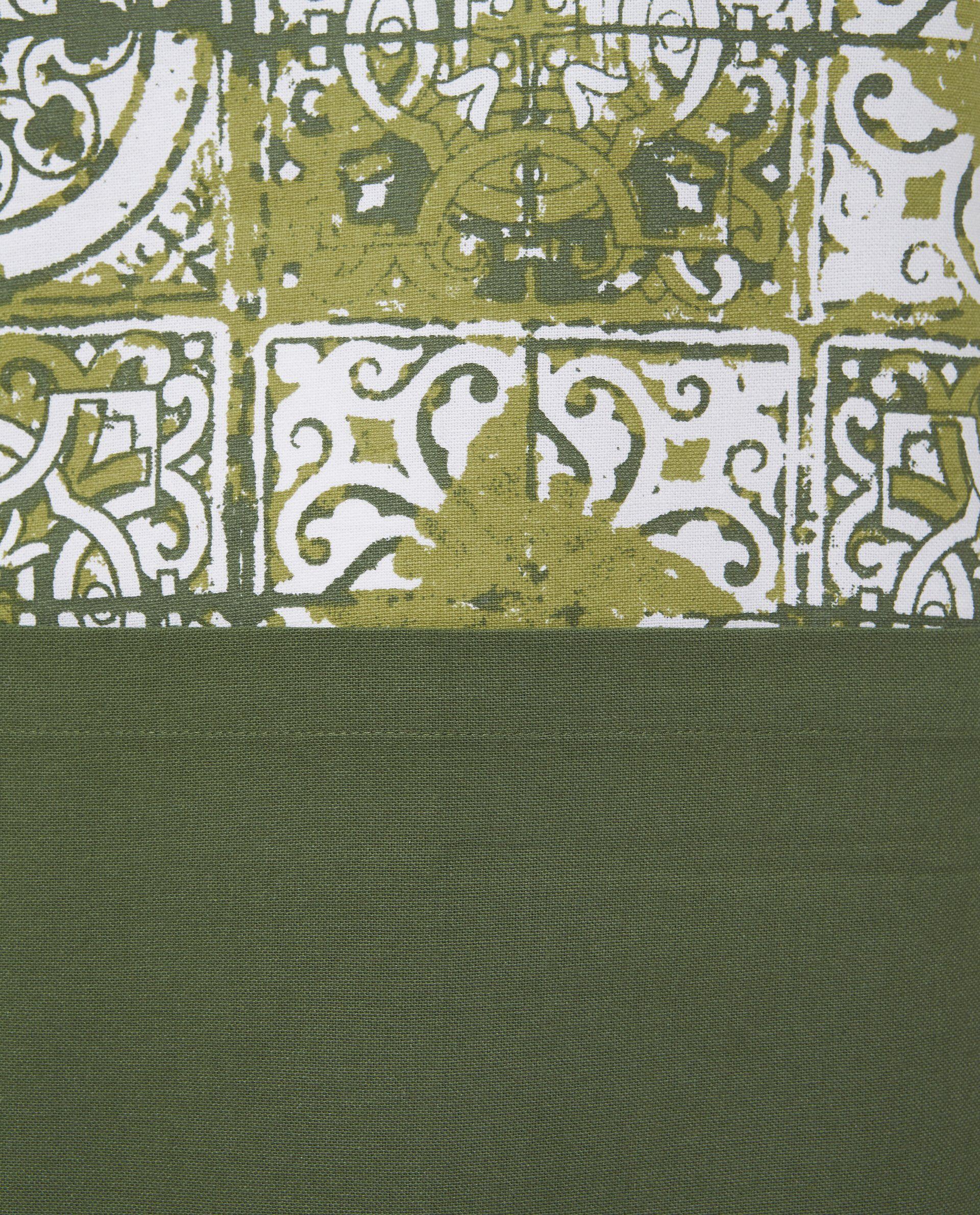 Grembiule cotone stampa piastrelle