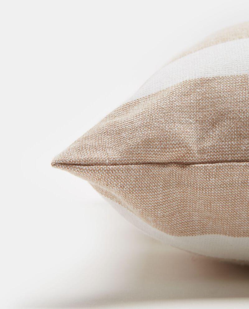 Cuscino in cotone fantasia a righe