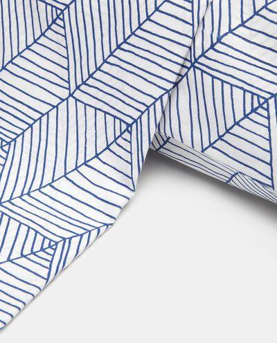Parure lenzuolo stampato di puro cotone detail 1