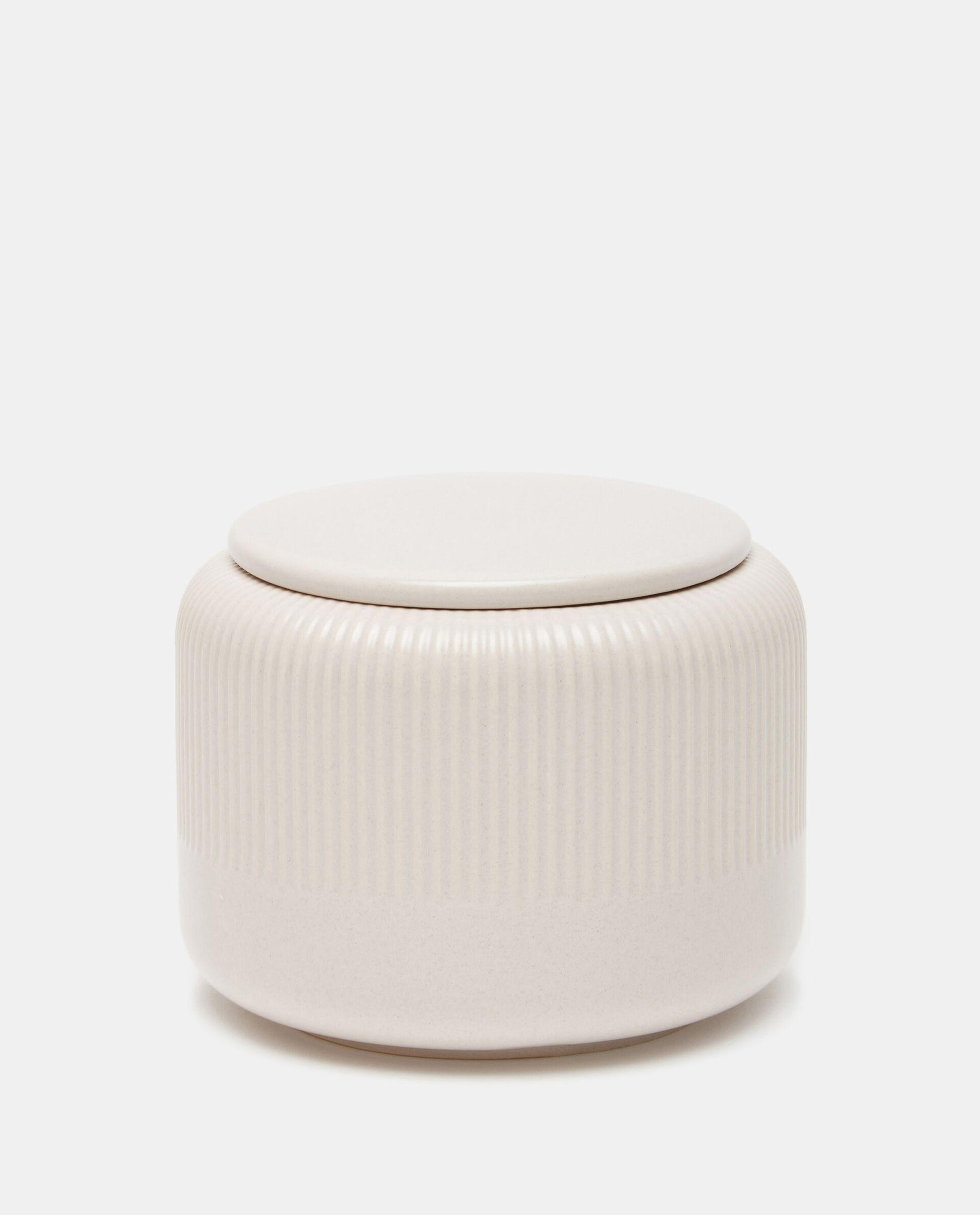 Porta cotone di ceramica