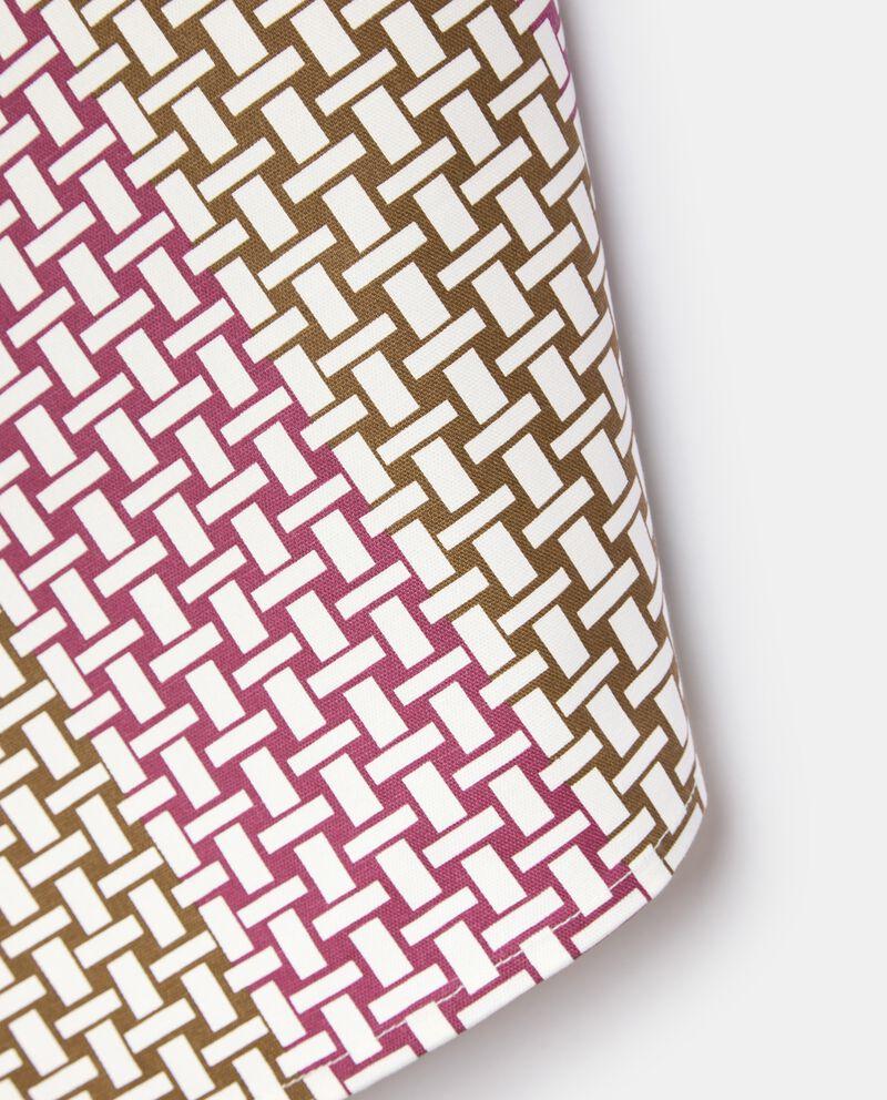 Strofinaccio con decoro incatenato in puro cotone single tile 1