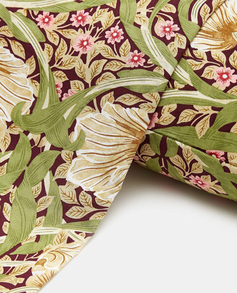 Copripiumino con stampa floreale in puro cotone single tile 1