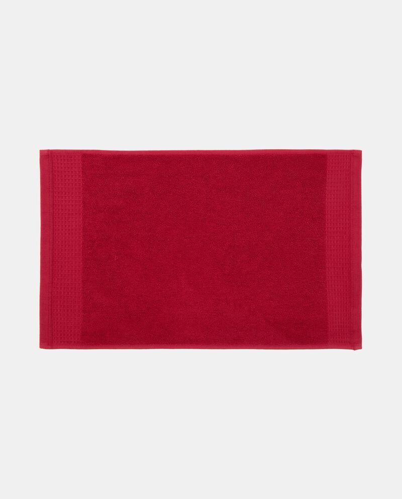 Asciugamano decoro quadratini