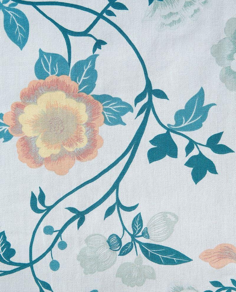 Tovaglia con fantasia floreale in puro cotone