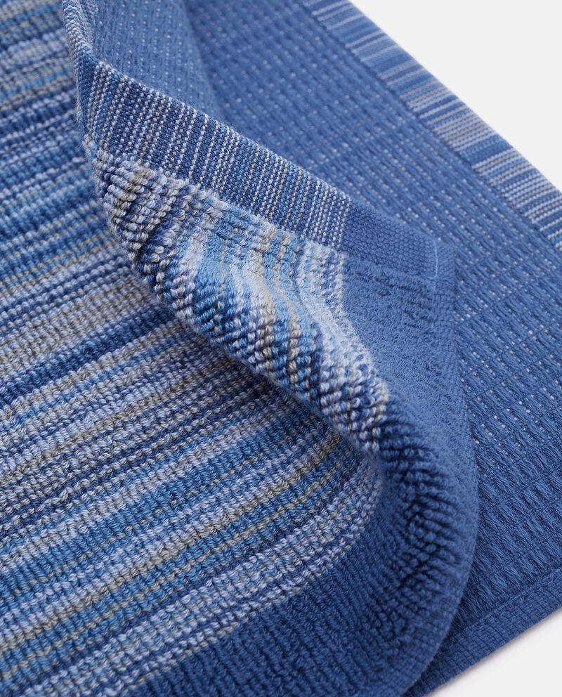 Asciugamano a righe in puro cotone