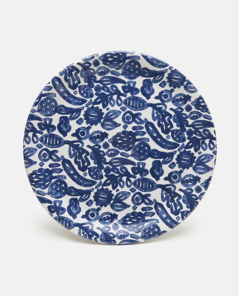 Piatto da portata con decorazioni in ceramica cover