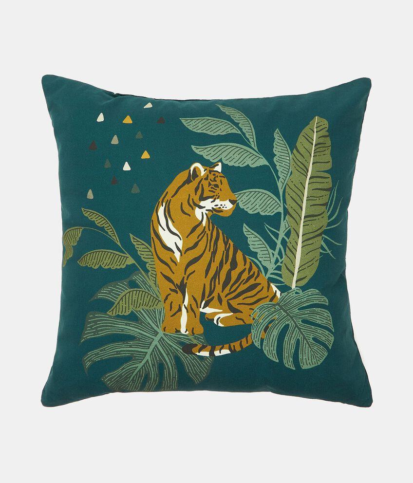 Cuscino arredo con stampa tigre double 1
