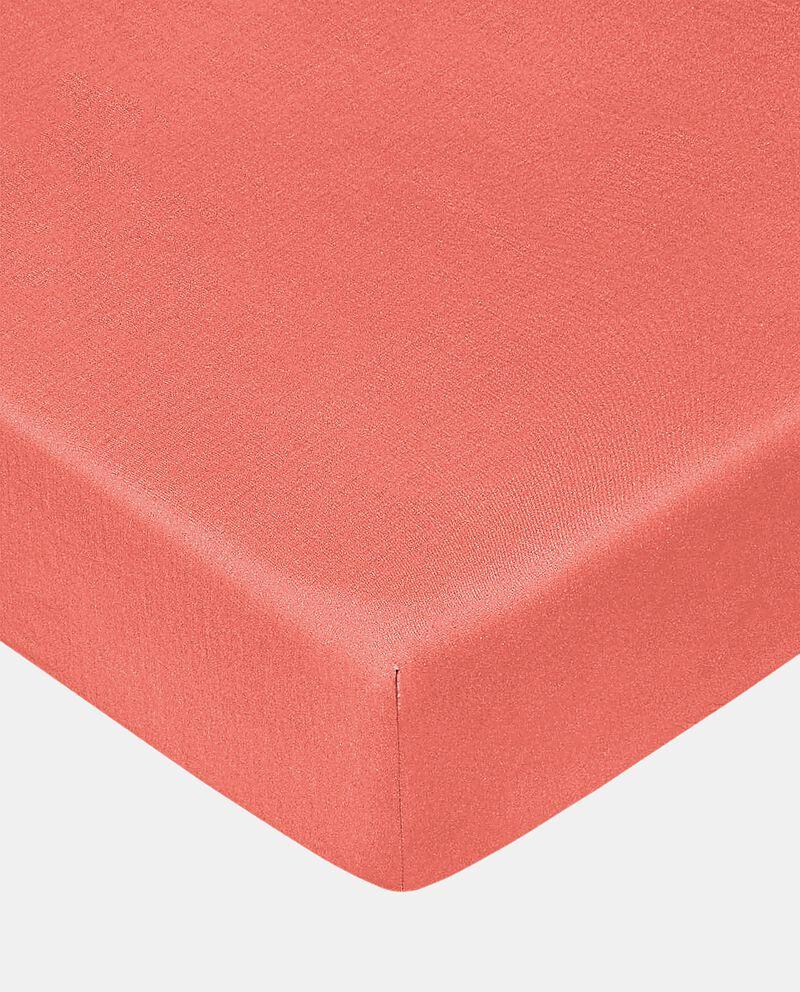 Lenzuolo con angoli tinta unita puro cotonedouble bordered 0