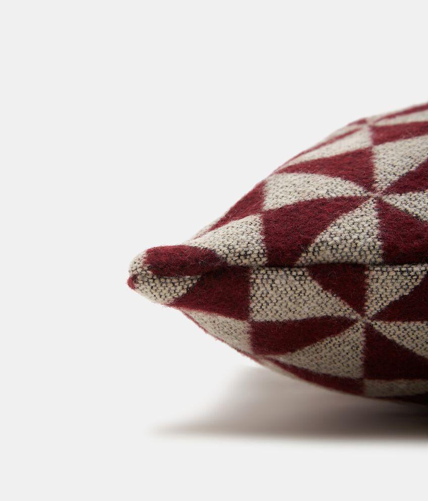 Cuscino wool con stampa geometrica double 2