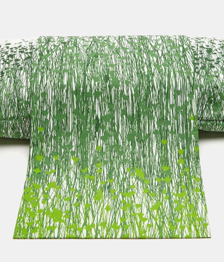 Lenzuolo con stampa floreale puro cotone