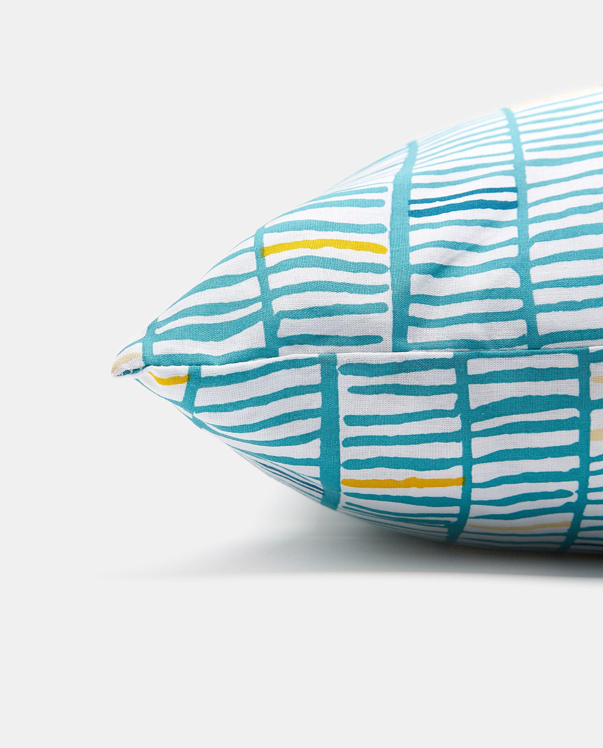Cuscino pixel con esterno in puro cotone