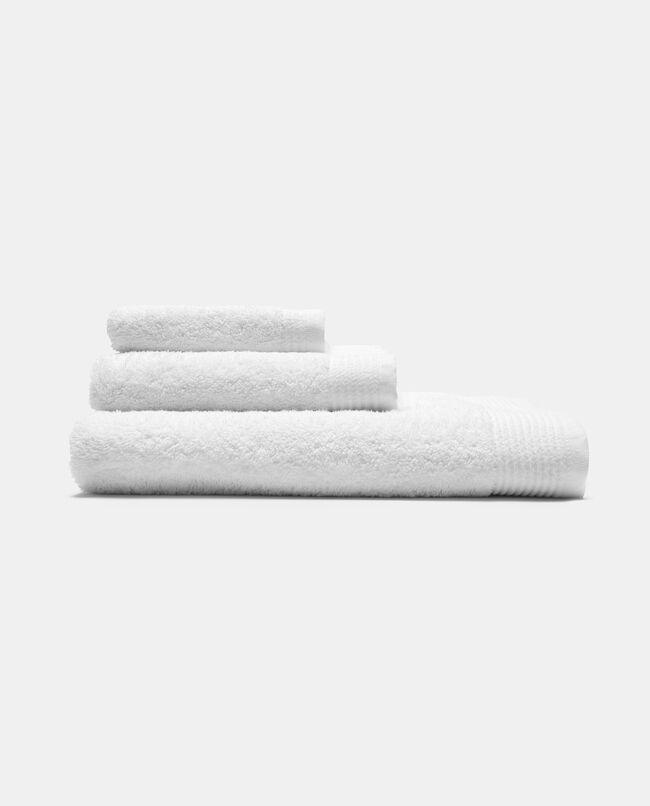 Asciugamano ospite righe al fondo