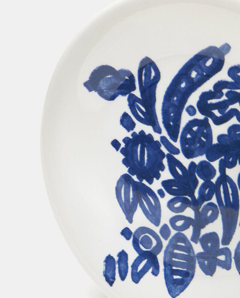 Piatto per la frutta decorato in ceramica