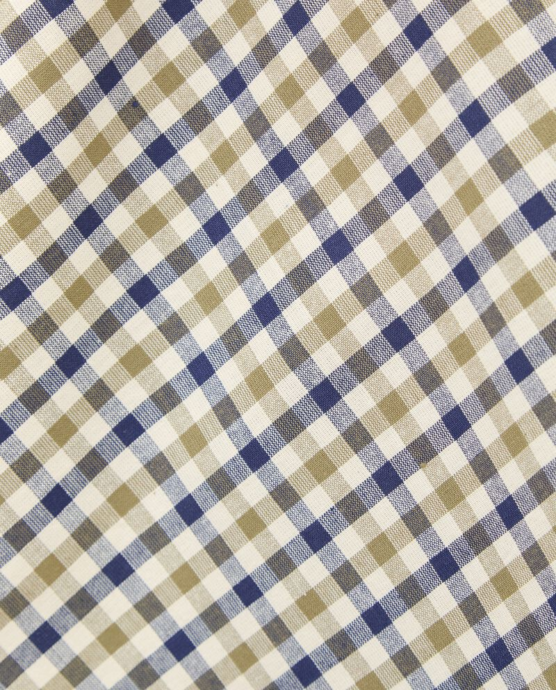 Strofinaccio con motivo a quadri in puro cotone single tile 1