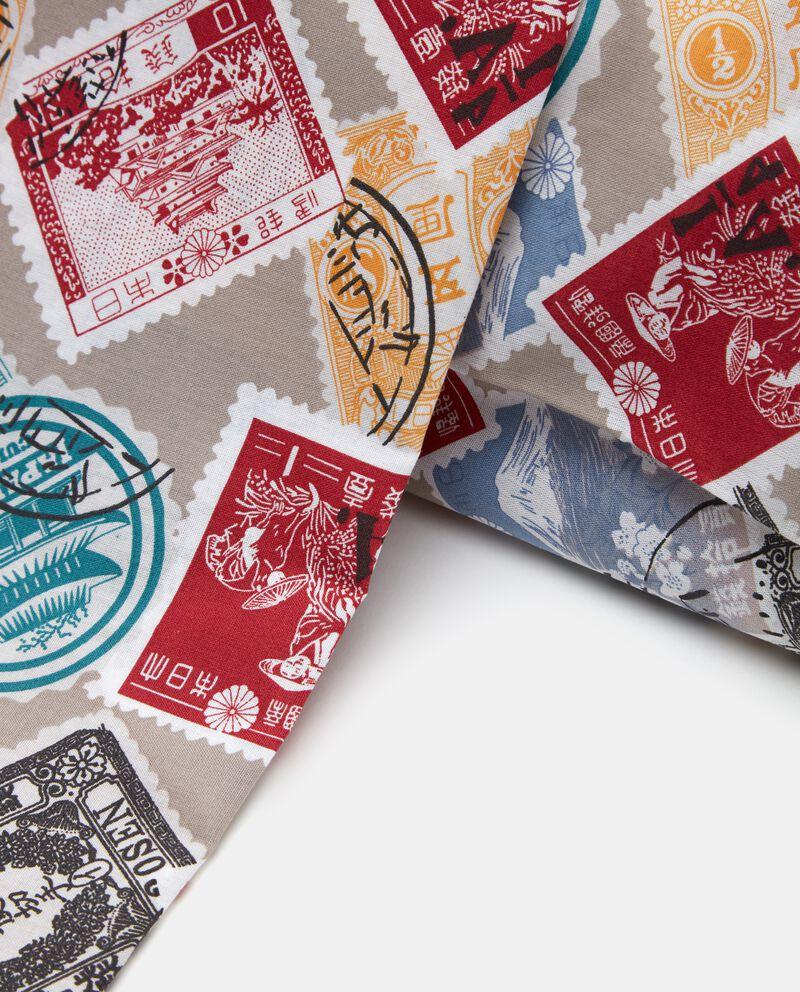 Parure lenzuolo in fantasia francobolli