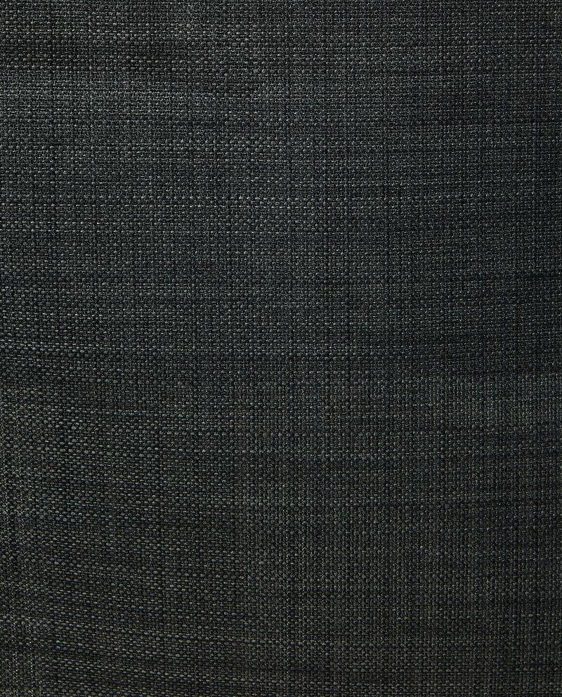 Tovaglia tinta unita con effetto linodouble bordered 1
