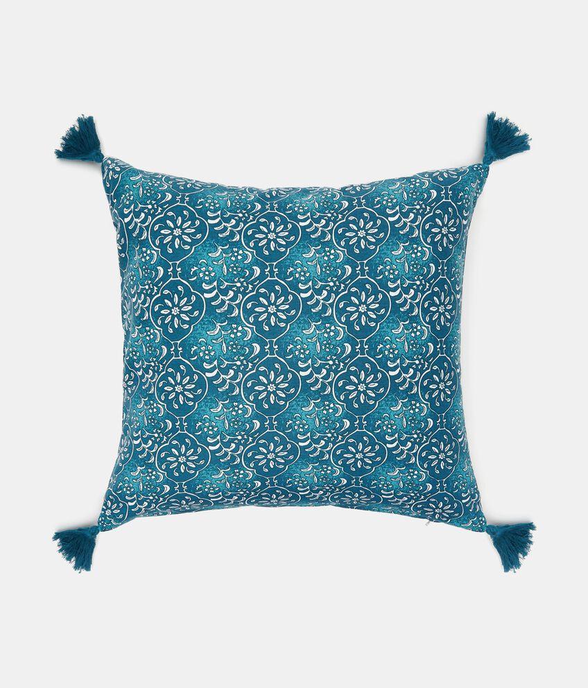 Cuscino con nappe fantasia marocco