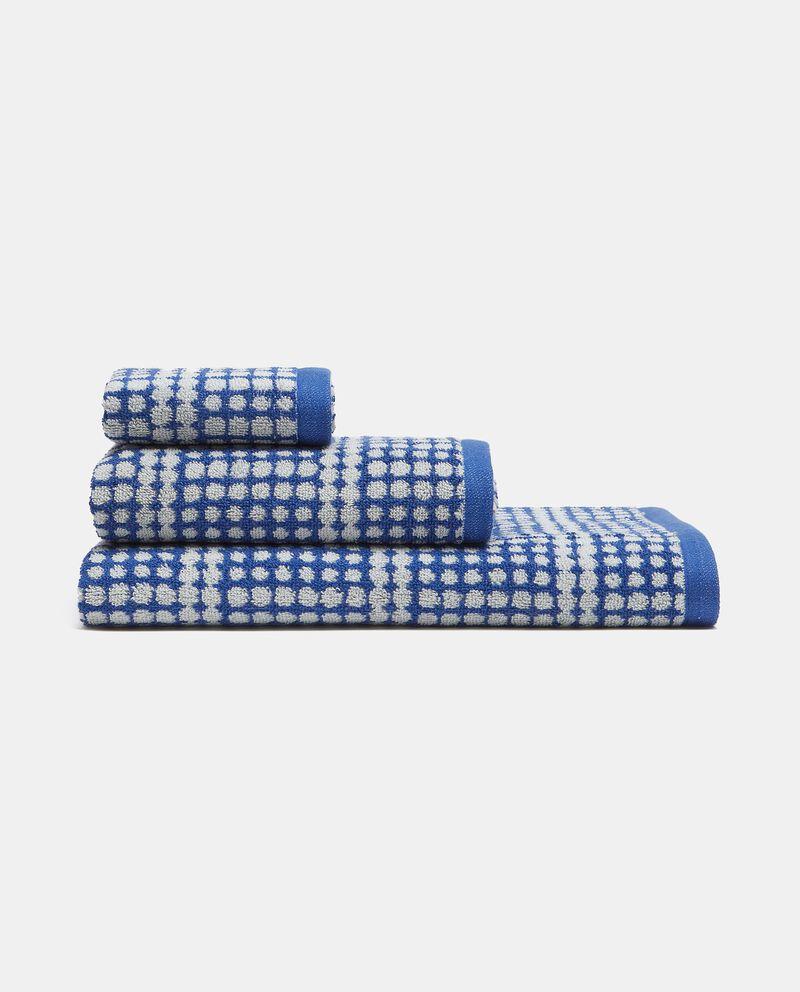 Asciugamano ospite in puro cotone con fantasia multidots cover