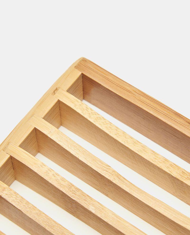 Porta sapone in bambù