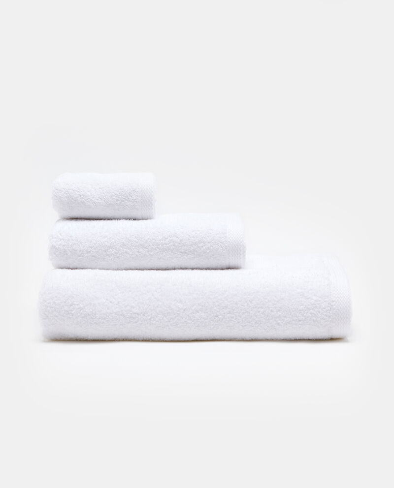 Asciugamano puro cotone tinta unita