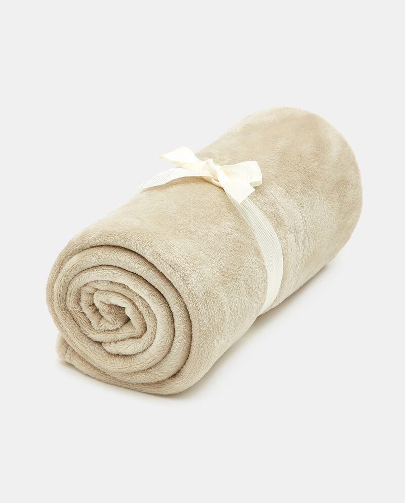 Plaid flanella fluffy cover