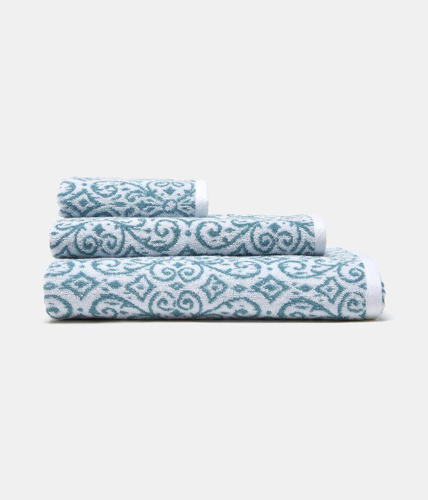 Asciugamano con decoro arabesque