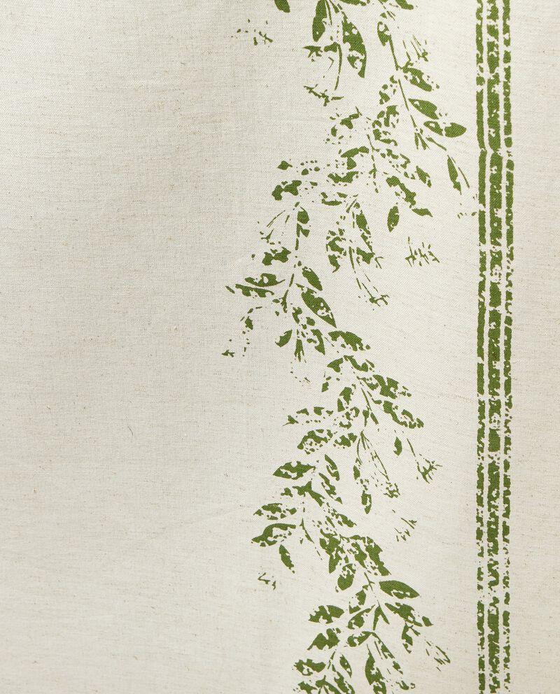 Tovaglia in lino e cotone stampata
