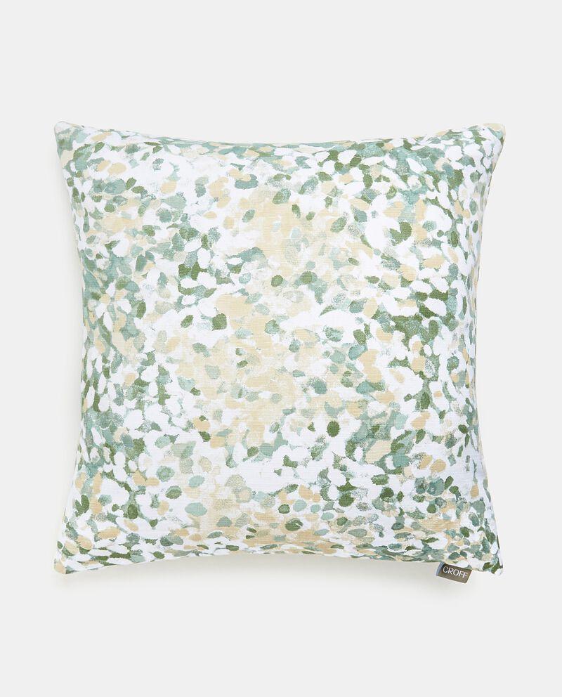 Cuscino con stampa Monet garden