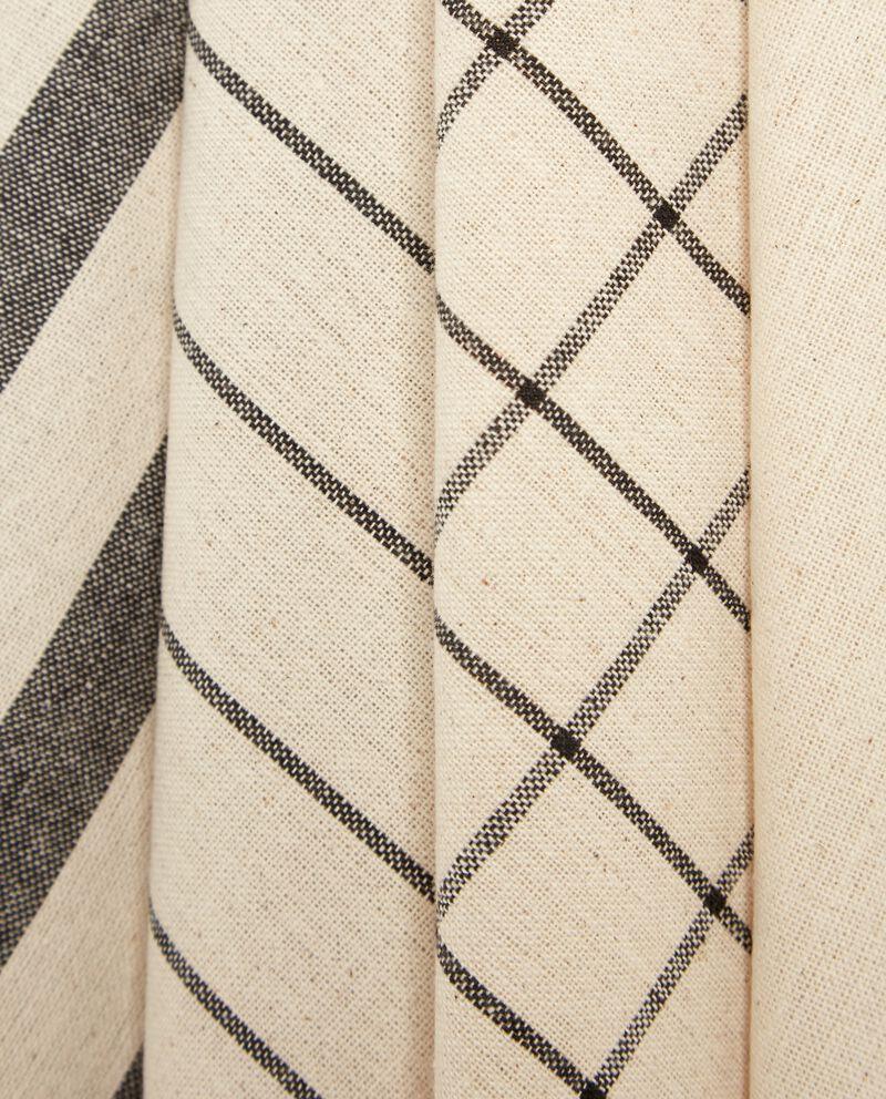 Set quattro strofinacci in cotone