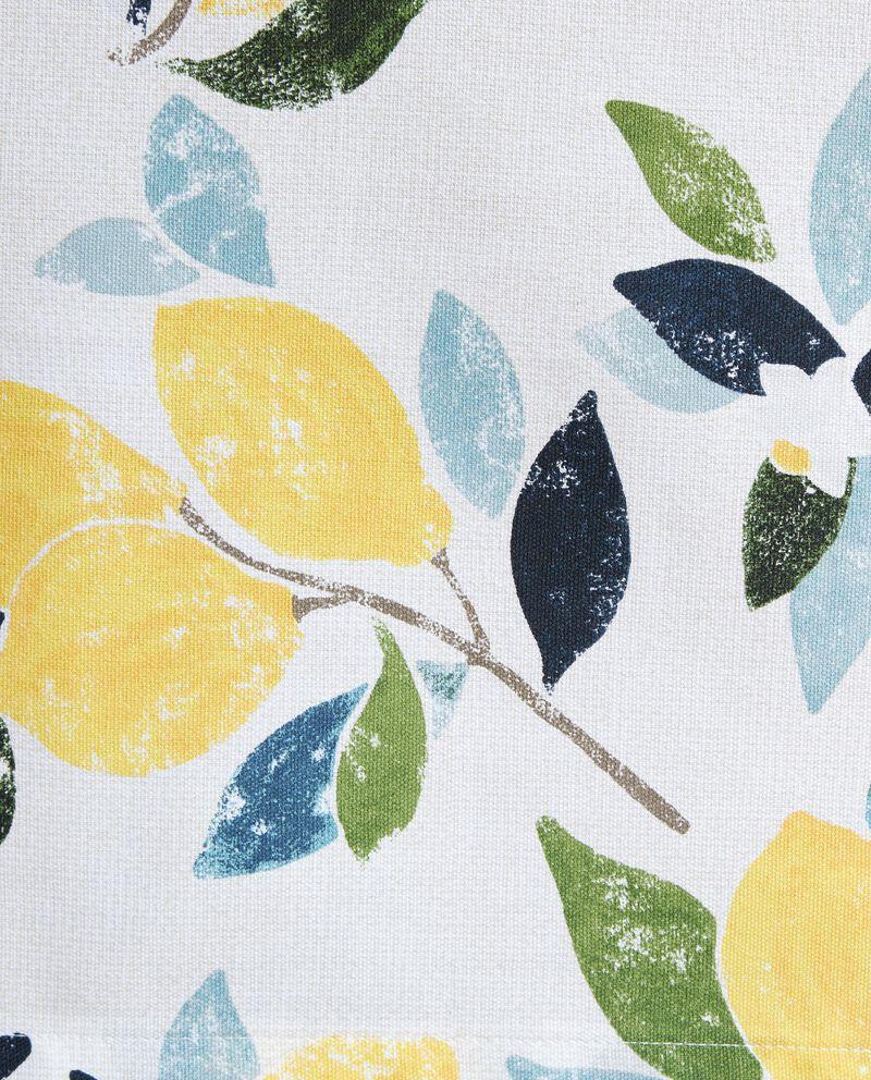 Tovaglia in cotone fantasia limoni