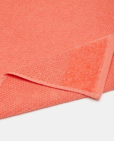 Asciugamano viso puro cotone in tinta unita